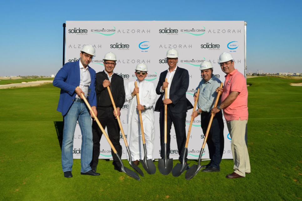 Wellness centre breaks ground at Ajman's Al Zorah development