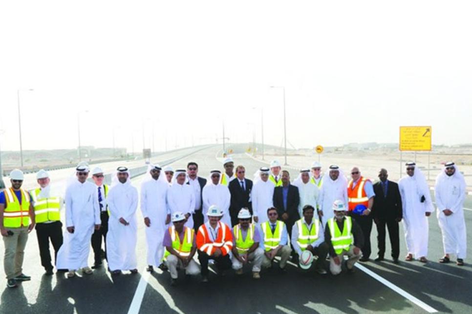 Qatar: New bridge eases traffic from HIA, Al Wakra