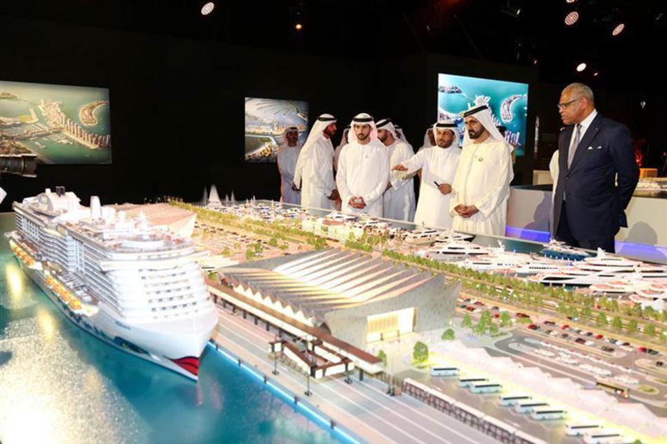 Sheikh Mohammed approves Dubai Cruise Terminal