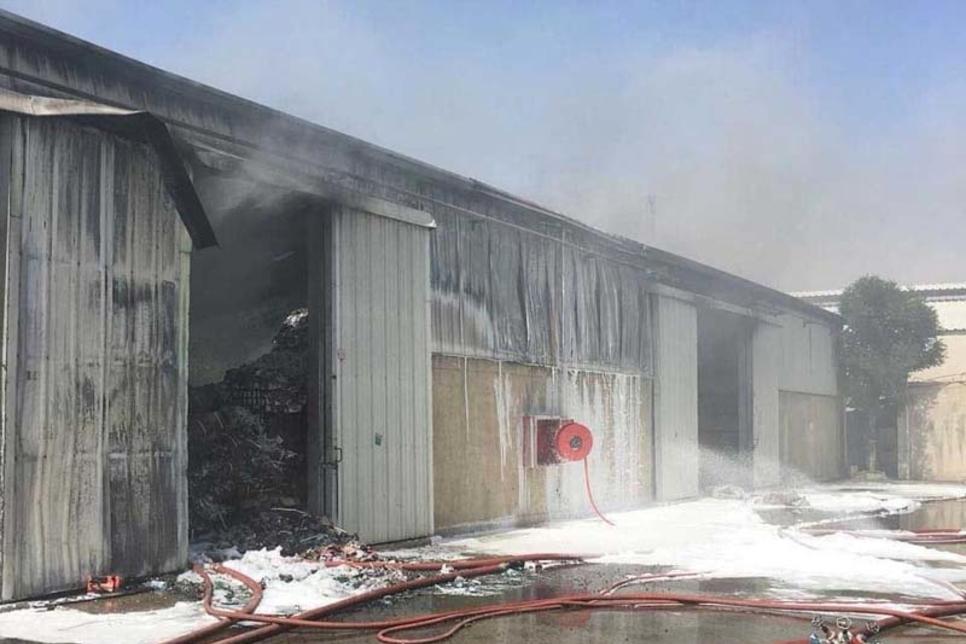 Three Dubai warehouses hit by blaze over Eid break