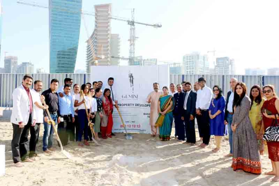 Gemini breaks ground on 29-storey residential project in Dubai
