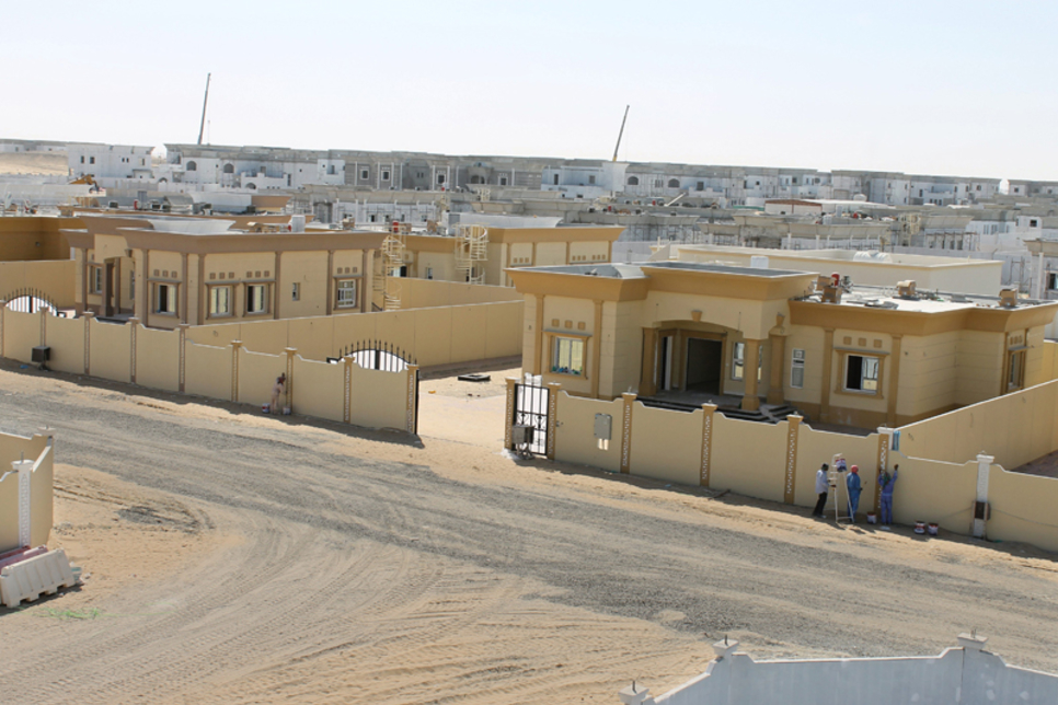 Construction of government-funded Bahrain homes 98% complete
