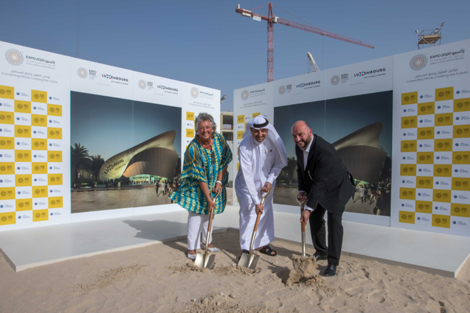 Ground breaks on first Expo 2020 foreign pavilion
