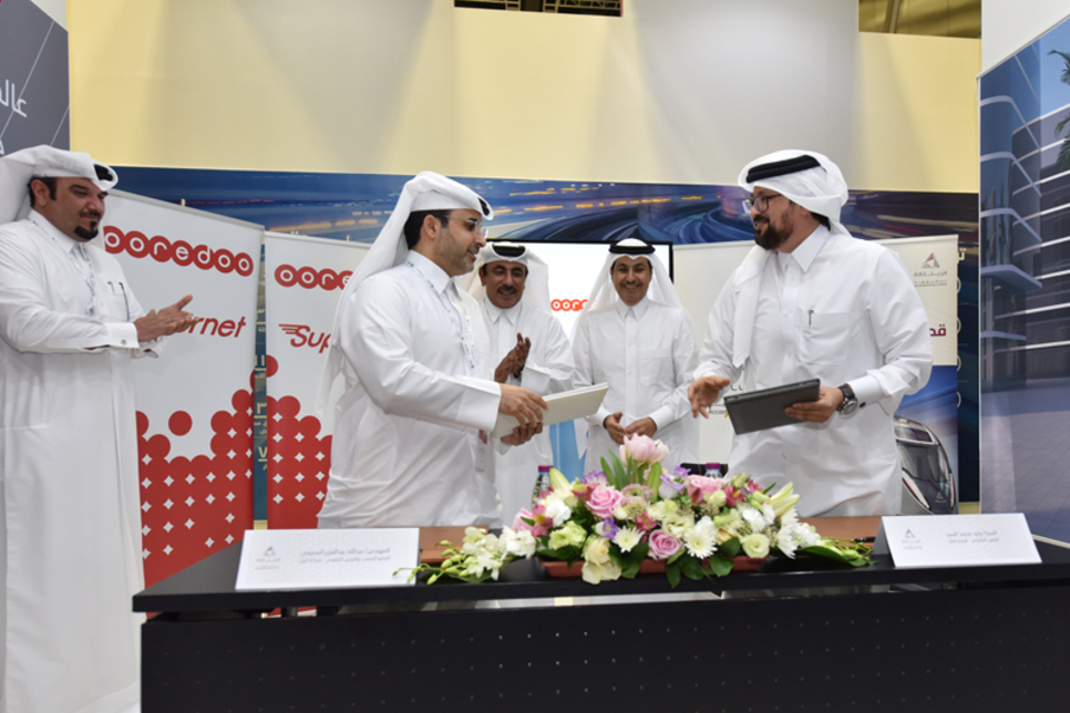 Qatar Rail signs three MoUs at QITCOM 2017