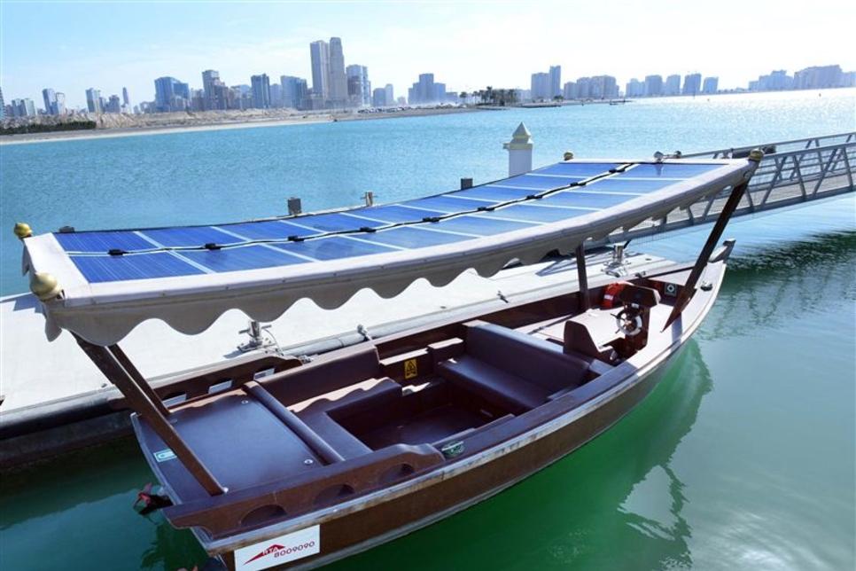RTA launches first solar-power abra