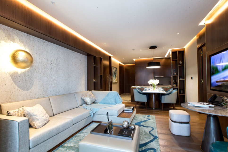 In Pictures: Inside Langham Place Residences, Dubai