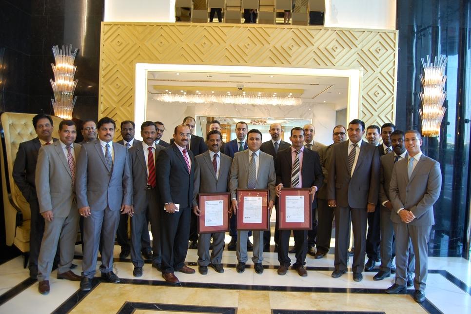 Luxury Facilities Management LLC wins certificates