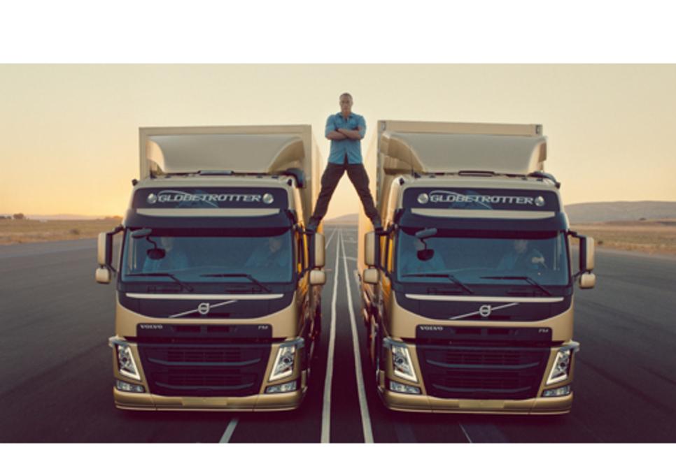 Cannes triumph for Volvo Trucks' media campaign