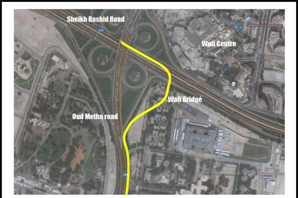 Construction starts on $24m Wafi Bridge in Dubai