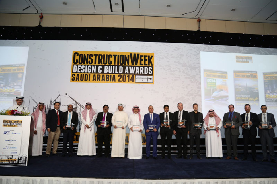 In pictures: Construction Week Saudi Arabia Awards