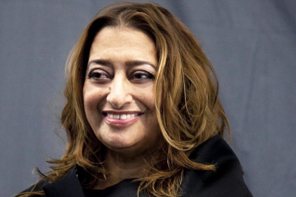 Zaha Hadid receives Honorary Degree