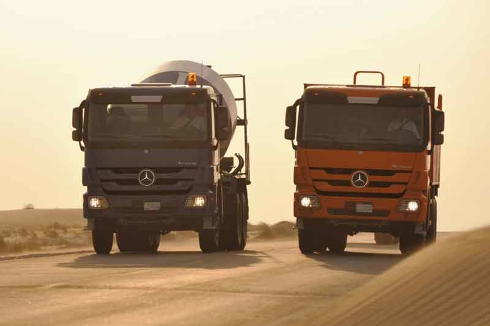 Ghantoot Contracting buys Actros fleet in Oman