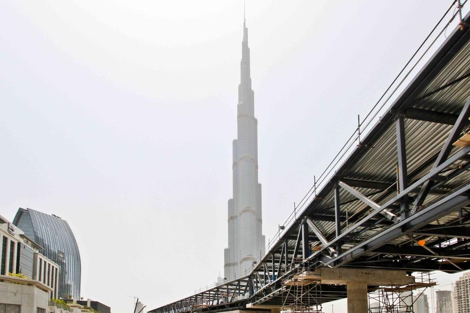 Dubai Mall metro link opened by Emaar