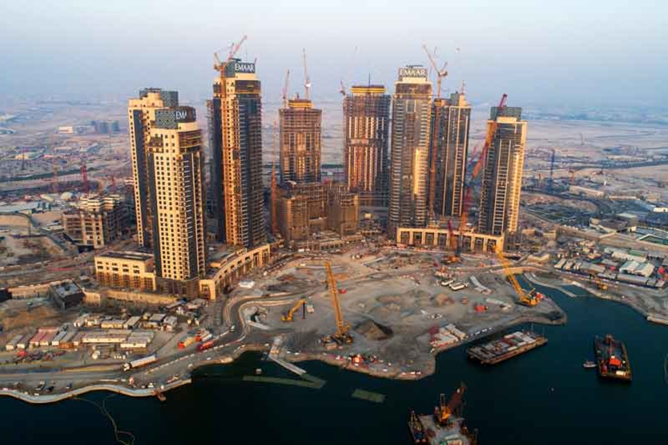 Dubai Creek Residences 90% complete as 2019 handover nears