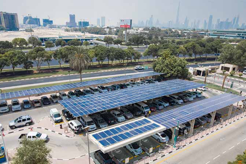 DEWA commissions two solar carports
