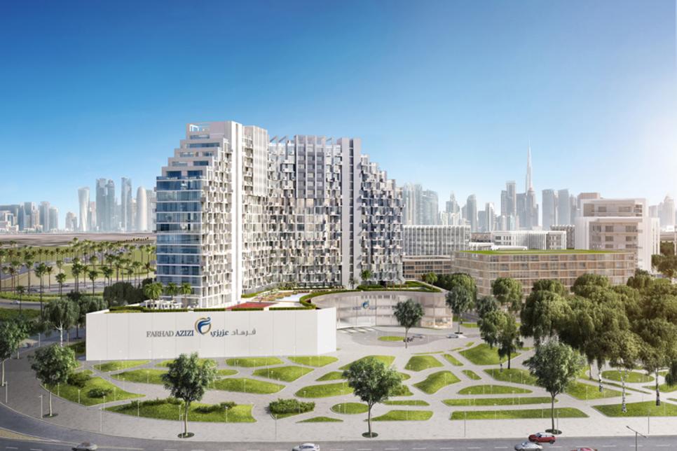 $93m Fawad Azizi homes launched in Dubai Healthcare City