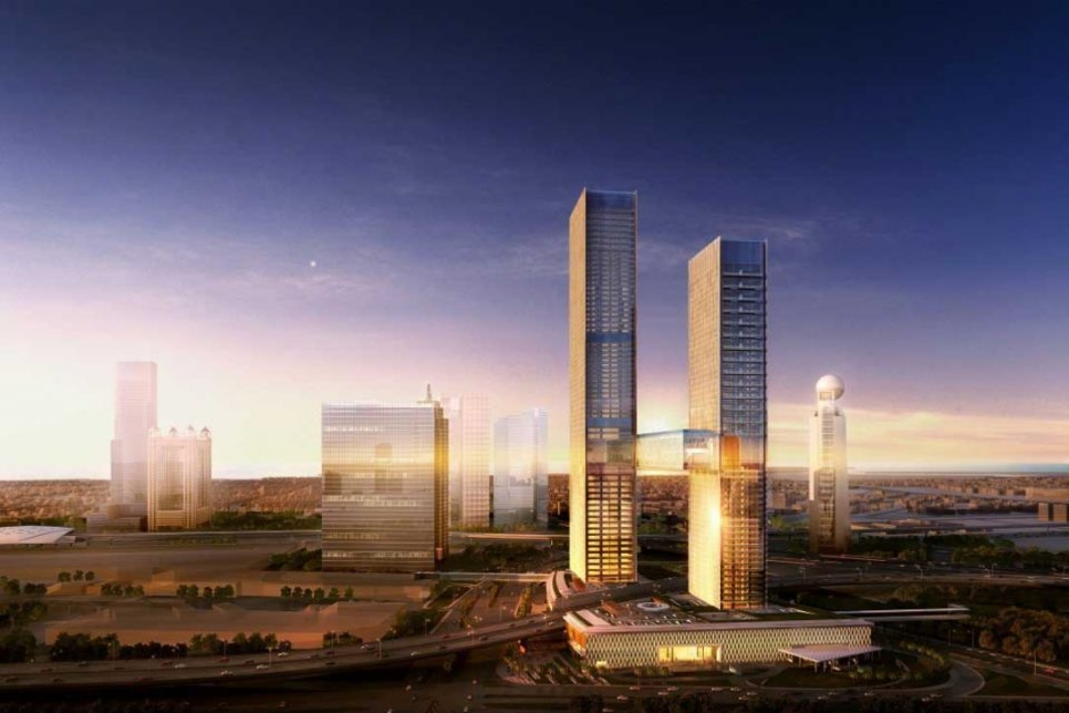 Cooling contract signed for Ithra Dubai's One Za'abeel towers