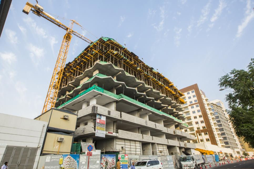 In pictures: Construction site of Binghatti Stars in Dubai Silicon Oasis