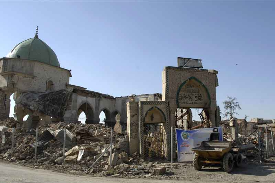 UAE-backed reconstruction of Iraq's Great Mosque of al-Nuri to complete in 2023
