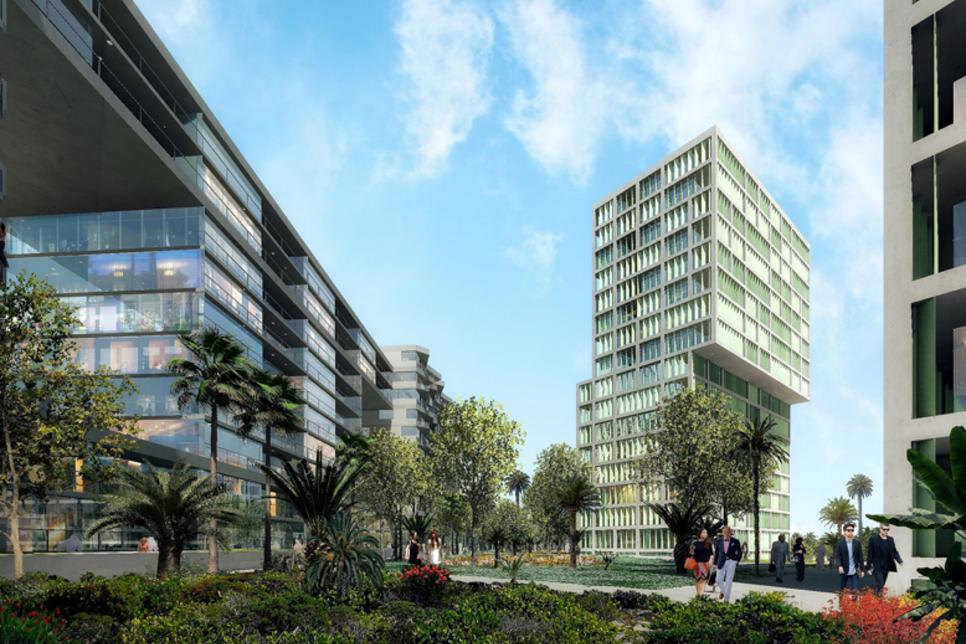 Construction of Afnan and Dania at Deyaar's Midtown 50% complete