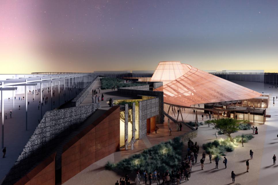 Expo 2020 Dubai's Opportunity Pavilion will be concrete-free
