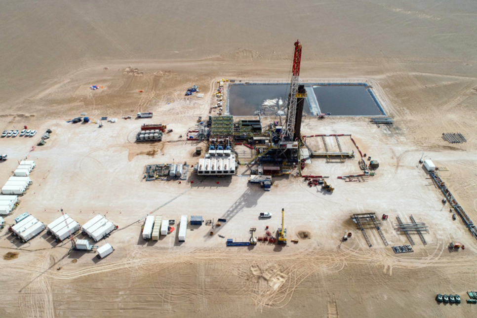 Construction progress made on BP's Ghazeer Gas Field in Oman
