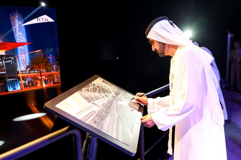Dubai Ruler reviews Route 2020 metro project as construction hits 53%