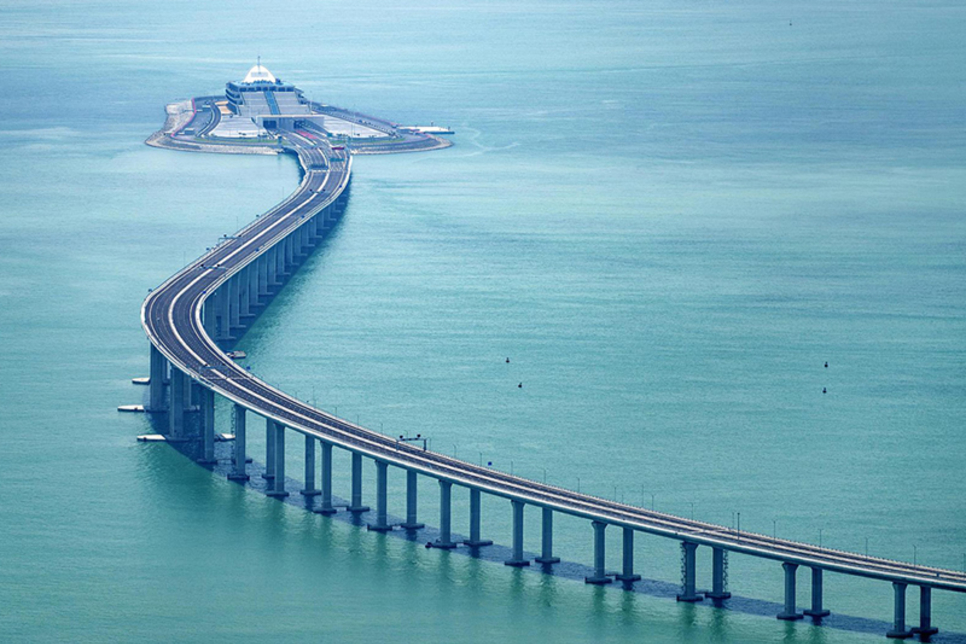 China to open world's longest cross-sea bridge on 24 October