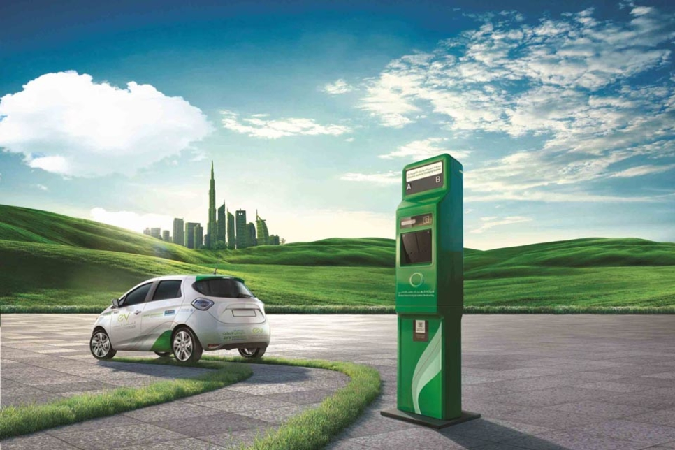 Dubai now has 200 electric vehicle charging stations