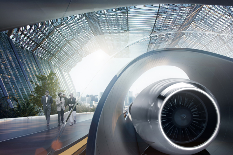 World's first hyperloop system set for Abu Dhabi construction in 2019