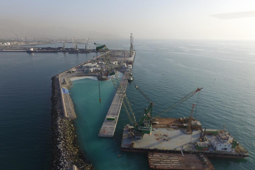 Bam reveals expansion milestones of Saqr Port in Ras Al Khaimah