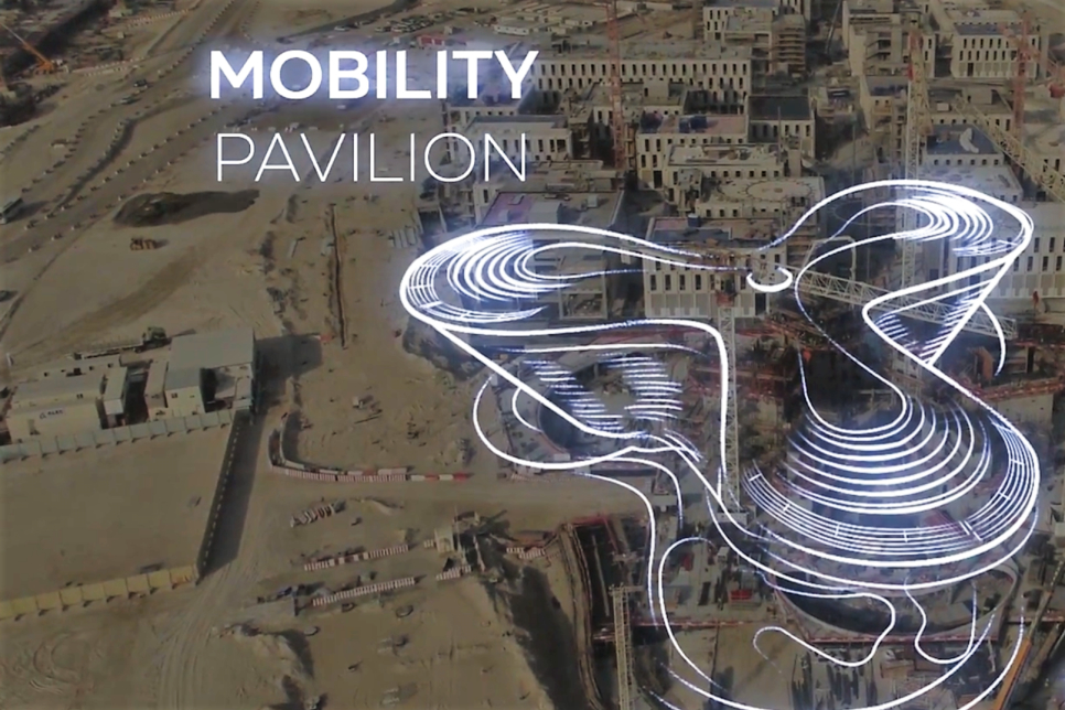 Video: Drone footage shows Expo 2020 Dubai construction site