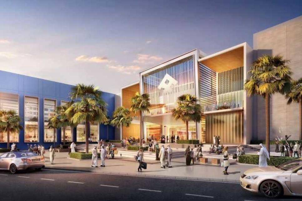 Construction progress on Al-Futtaim's 6ha Festival Plaza in Dubai