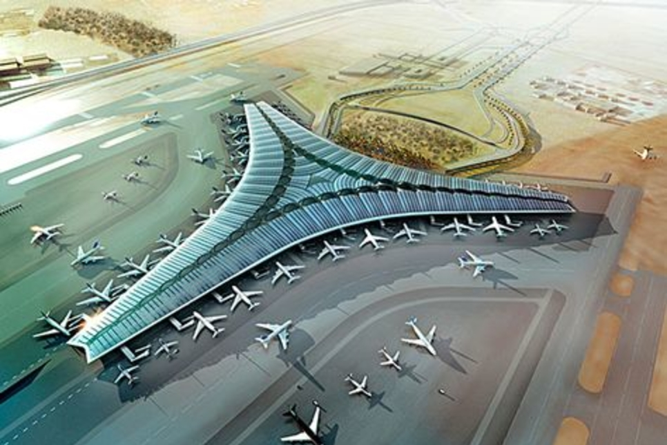 Quality tests begin for $4.3bn Kuwait airport project