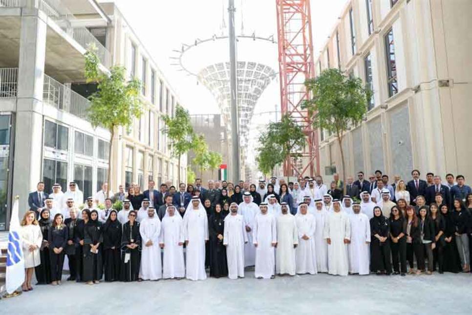 Dubai Ruler reviews Expo 2020 construction progress