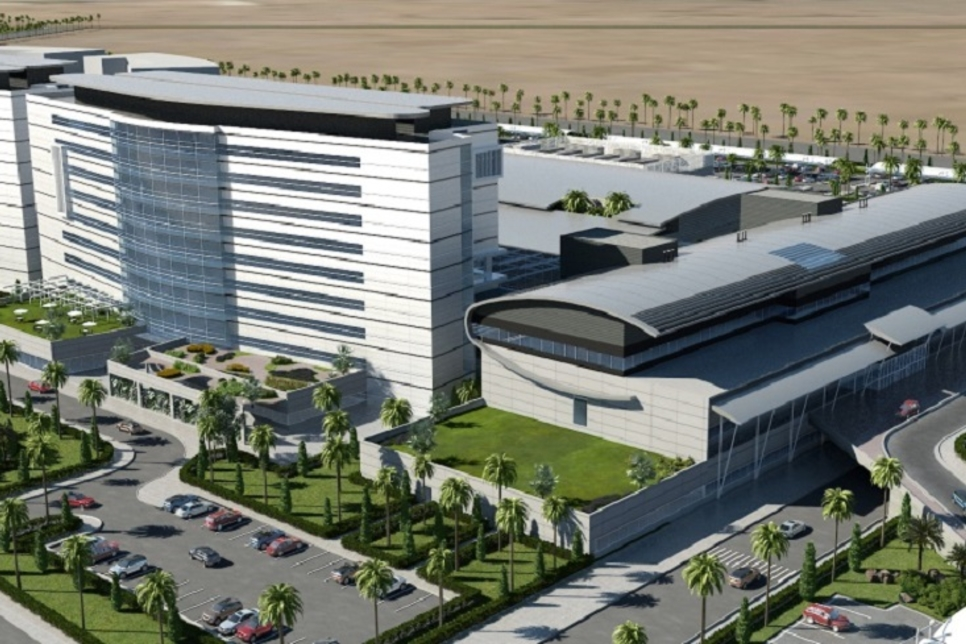 Infra growth at Bahrain's Saudi-funded King Abdullah Medical City