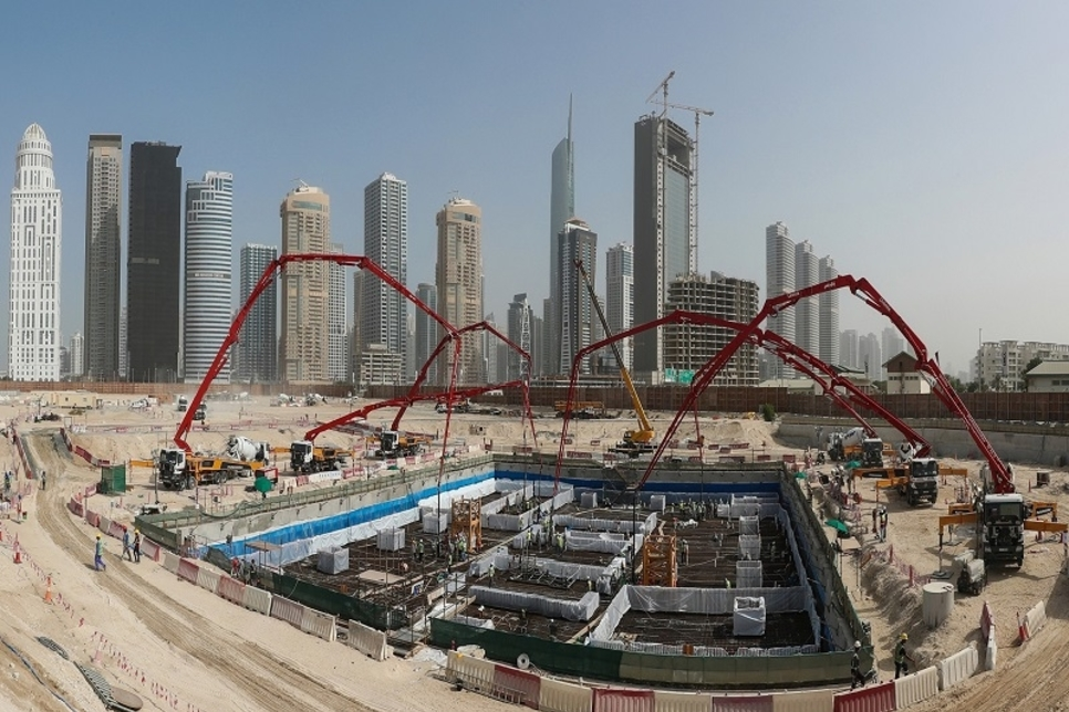 Besix wins contract to build super-tall tower at DMCC's Uptown Dubai