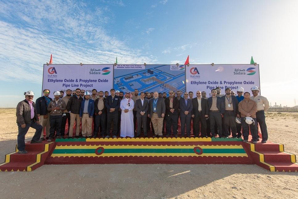 Ground broken on Sadara's 7km EO/PO pipelines in Saudi Arabia