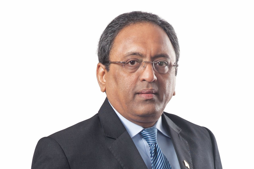S N Subrahmanyan, CEO and MD of India's L&T.
