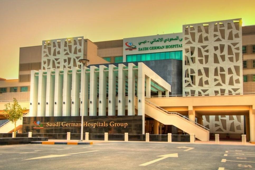 Construction of Saudi German Hospital in Dammam 84% complete