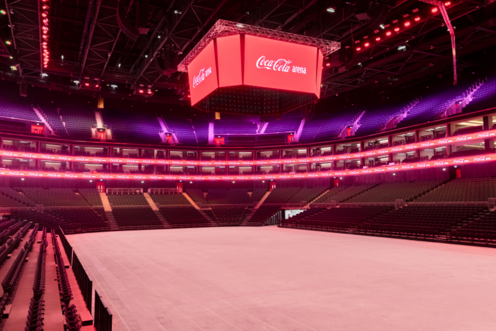 Dubai's Coca-Cola Arena to open on 6 June with Russell Peters show