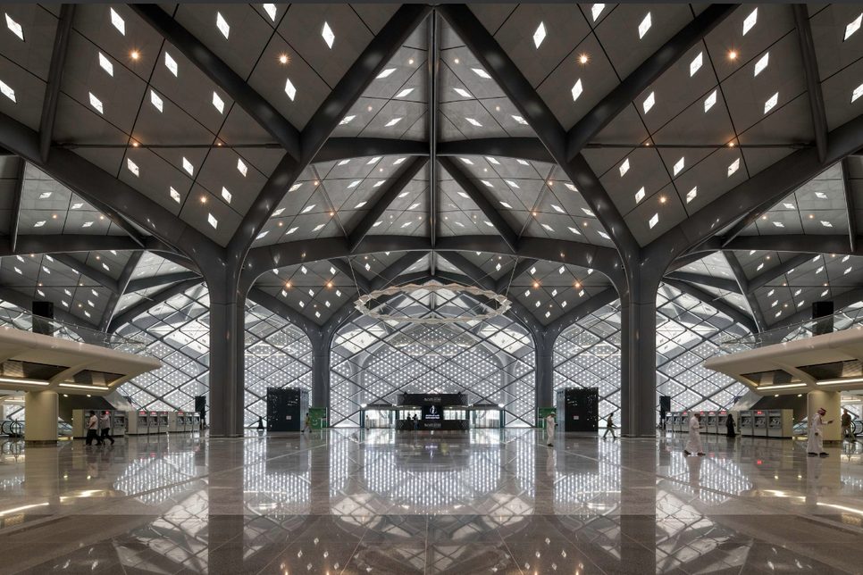PICTURES: Saudi Arabia's Haramain Rail stations by Foster + Partners