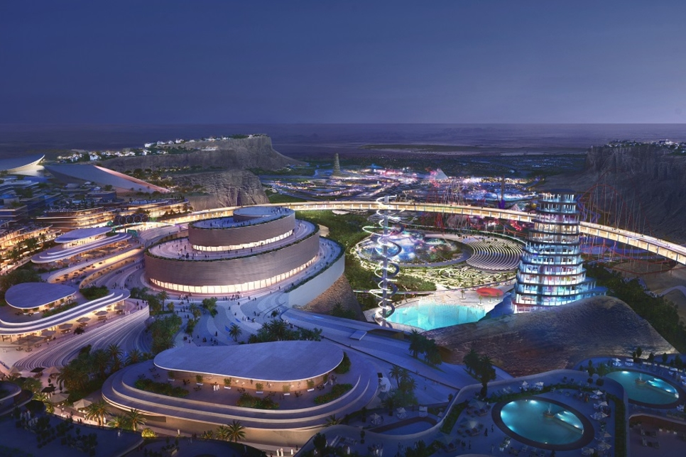 Saudi Arabia unveils Bjarke Ingels-designed masterplan of Qiddiya