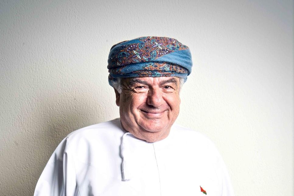 Simon Karam of Oman's Sarooj Construction Co.