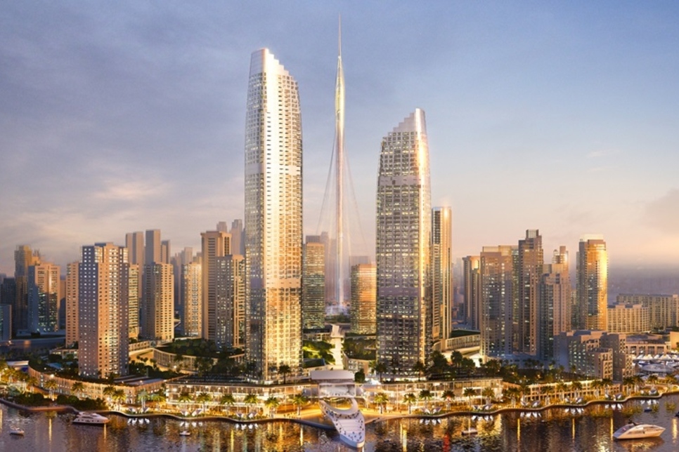 ASGC: 87% foundation progress at Emaar's Address Harbour Point - Projects  And Tenders - Construction Week Online
