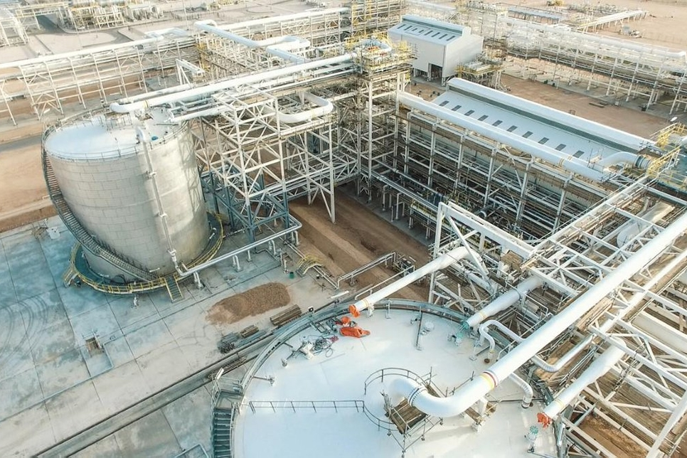 PDO's Rabab Harweel gas plant completed ahead of schedule
