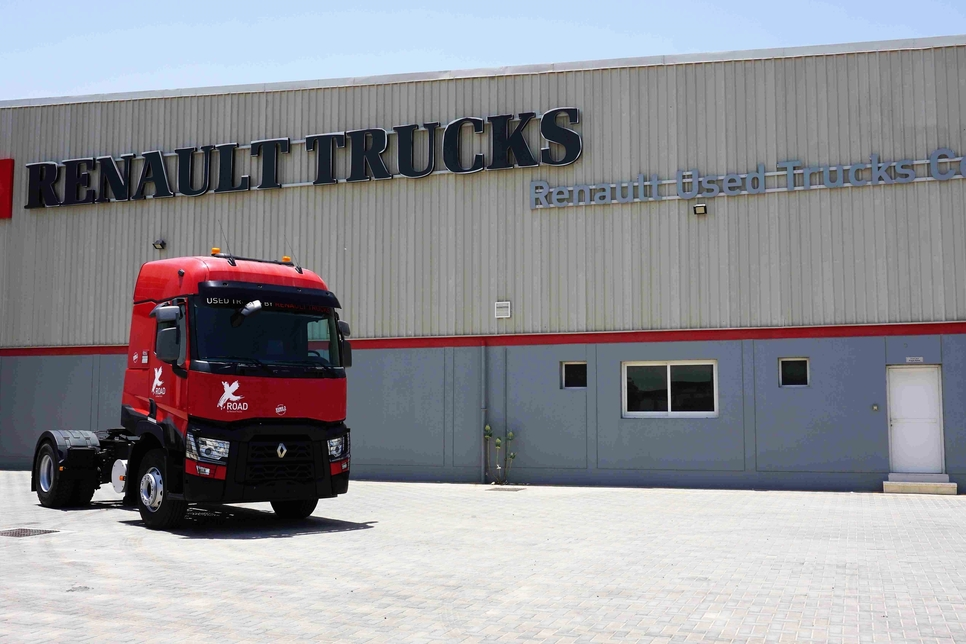 How is Renault responding to market demand for used trucks?