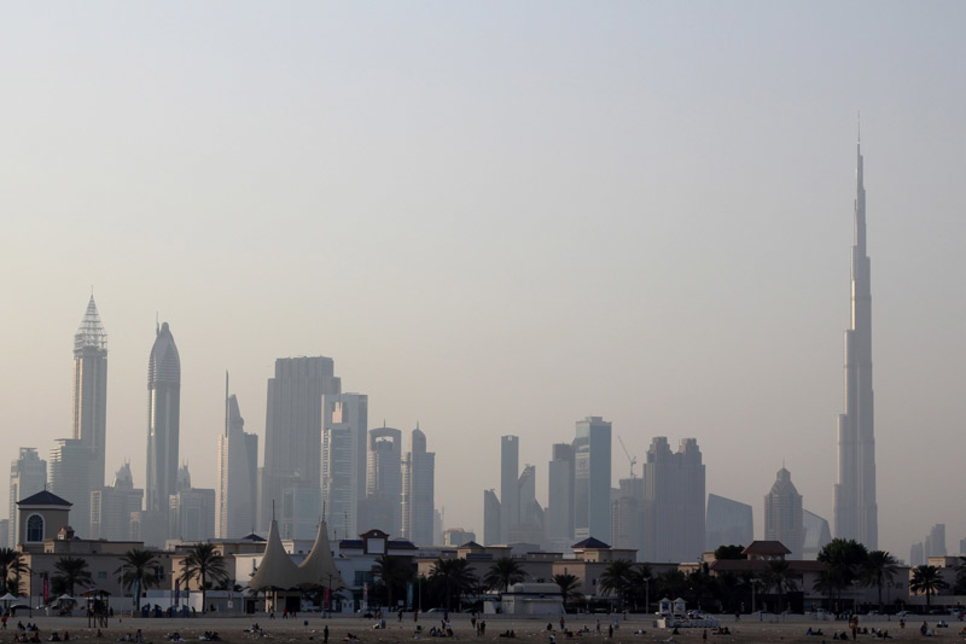 Nearly 124,000 hotel rooms under construction in the Middle East
