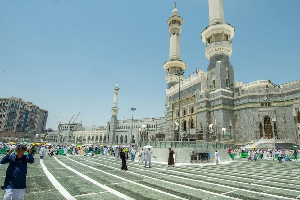 Saudi's Makkah Grand Mosque courtyard expansion 85% complete