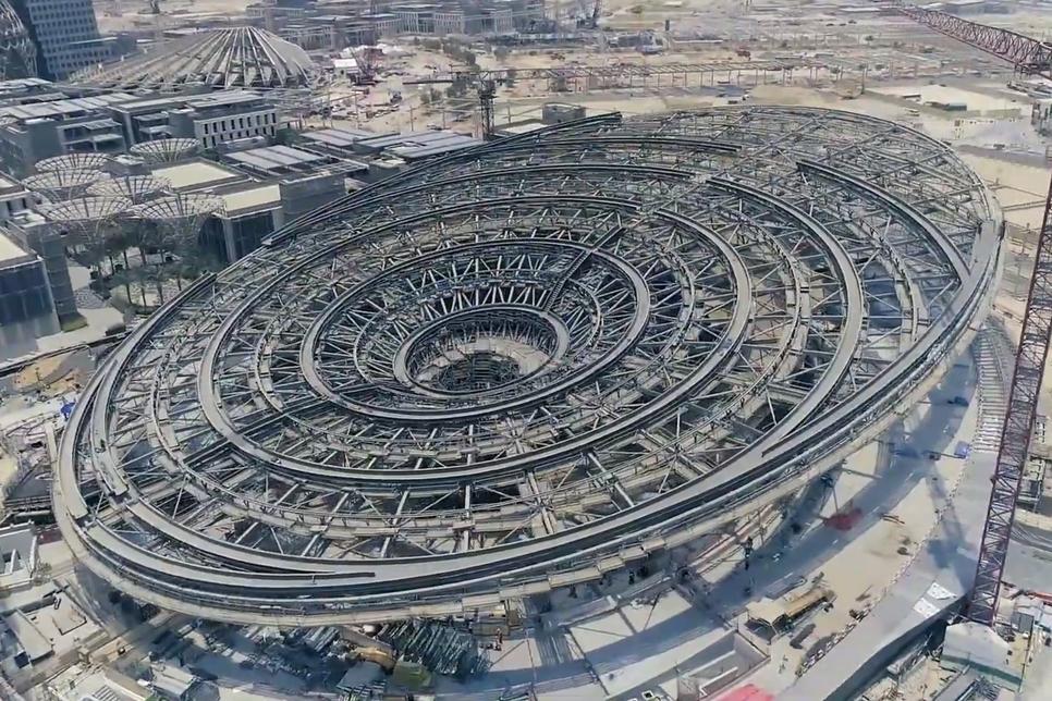 DRONE VIDEO: Expo 2020 Dubai construction progress [Aug 2019]
